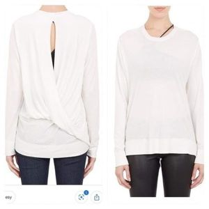 Helmut Lang Shirt with Twisted Draping